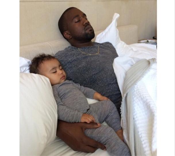 ... con Kanye West, ayer celebró el primer cumpleaños de su hija, North