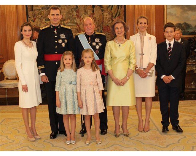 Resultado de imagen de nombres de las hijas del rey de españa