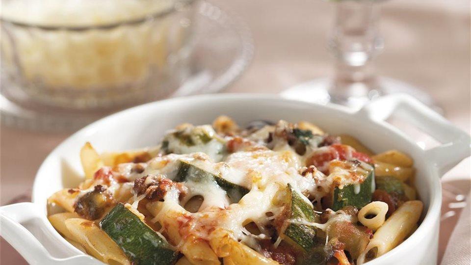 Macarrones al horno con verduras - Macarrones con verduras al horno ...