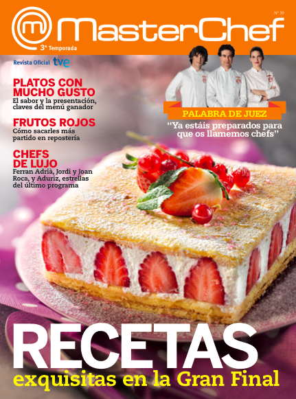 La revista oficial masterchef esta semana con lecturas - Revista cocina facil lecturas ...