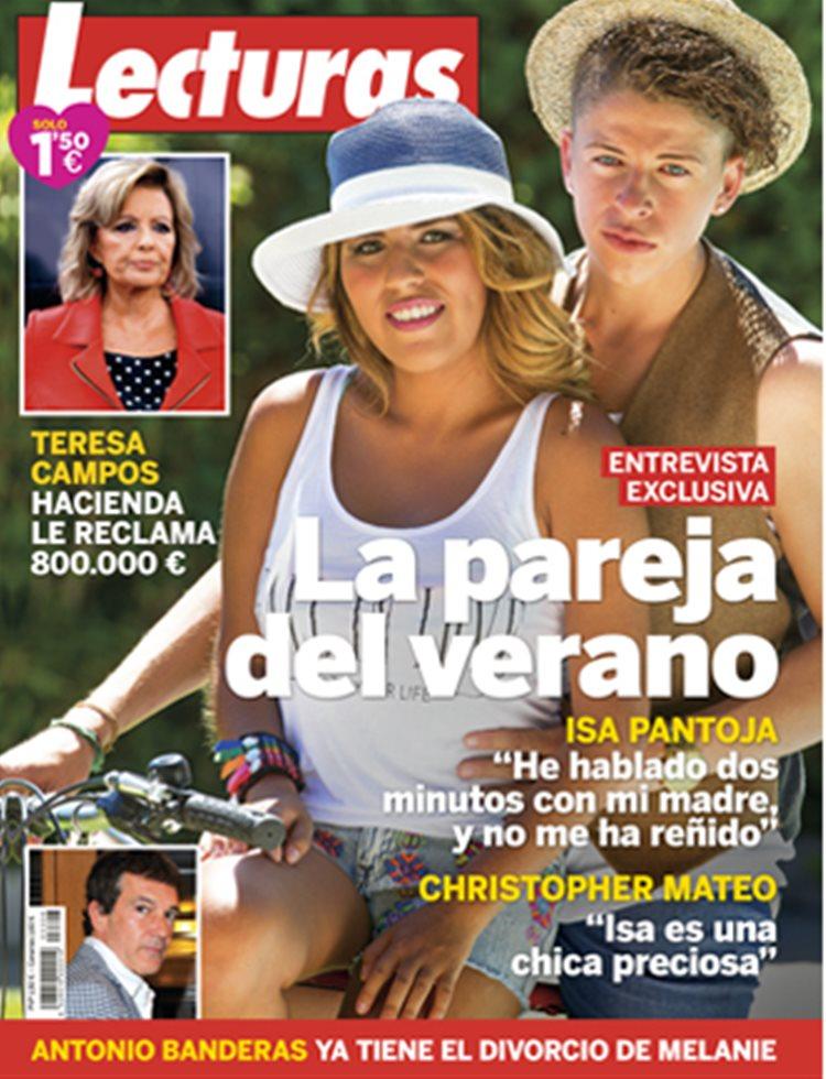 Chabelita y Christopher, la pareja del verano, entrevista