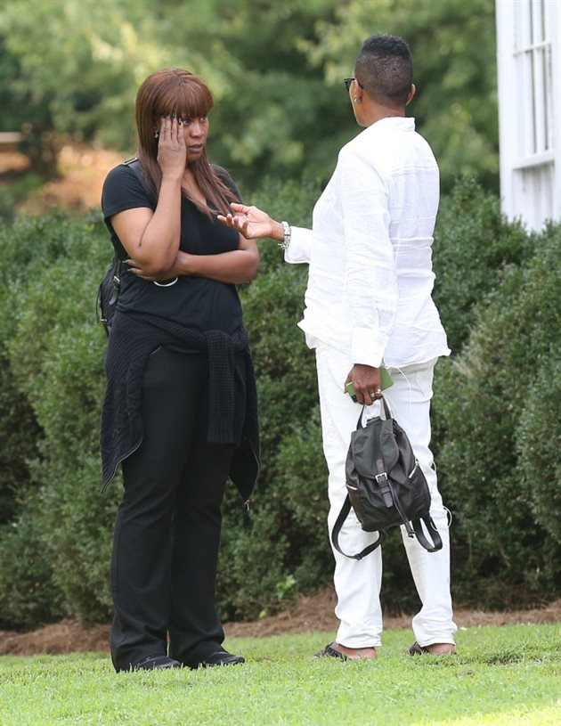 Bobbi Kristina Brown. Funeral