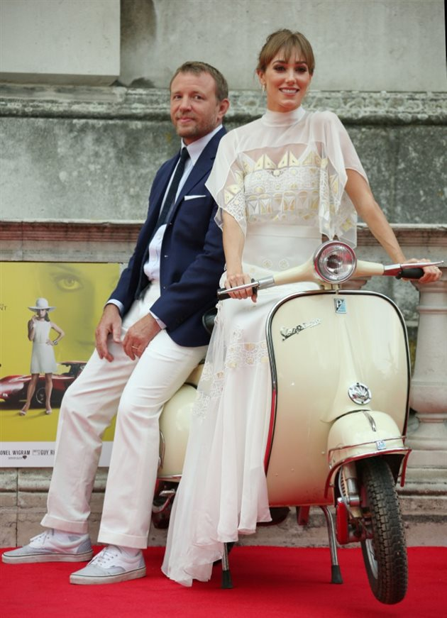 Guy Ritchie y Jacquie