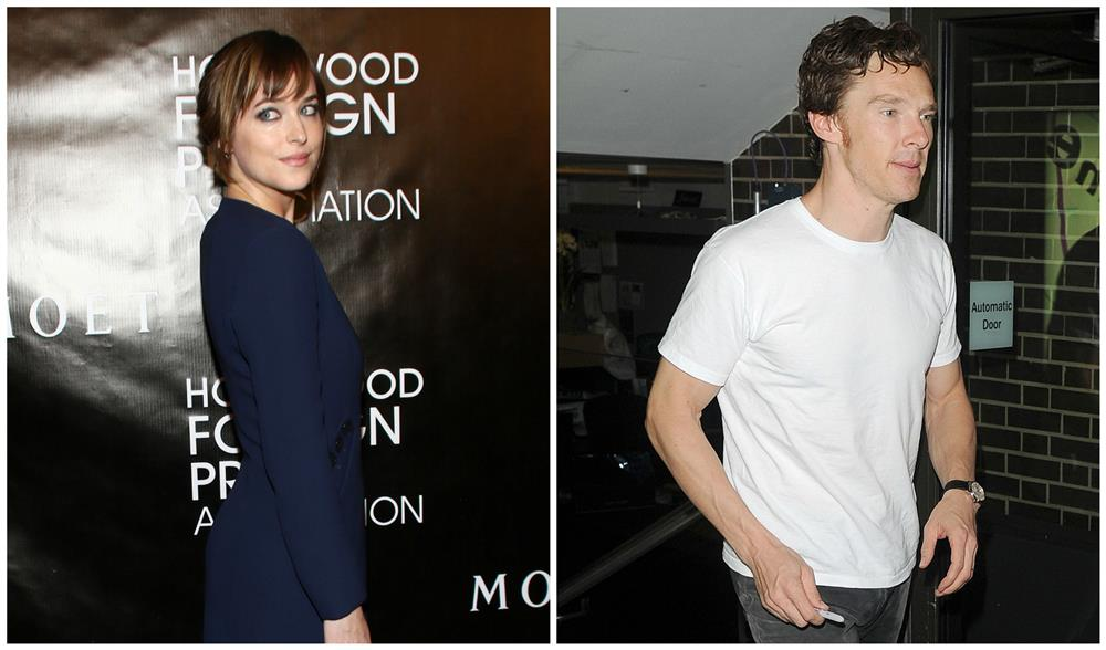 45. Dakota Johnson y Benedict Cumberbatch