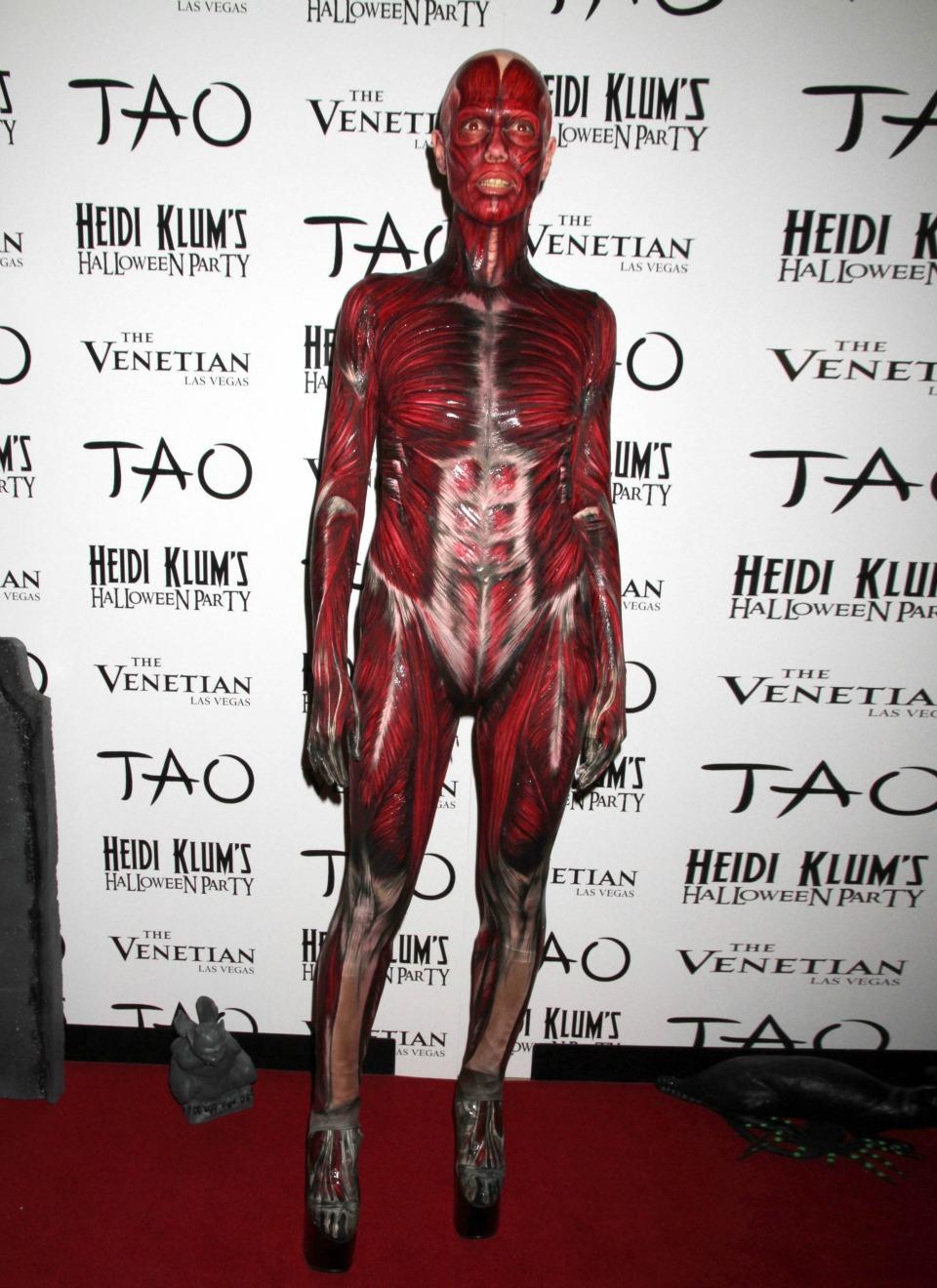 Heidi Klum, sus disfraces más espectaculares