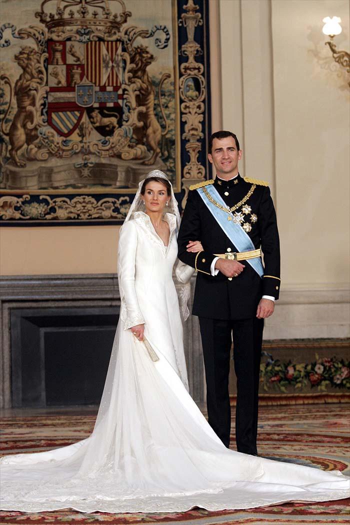 Vestido novia belen esteban disenador