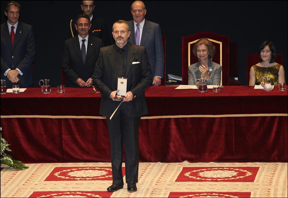 2009. Medalla de Oro a las Bellas Artes. Medalla de Oro a las Bellas Artes