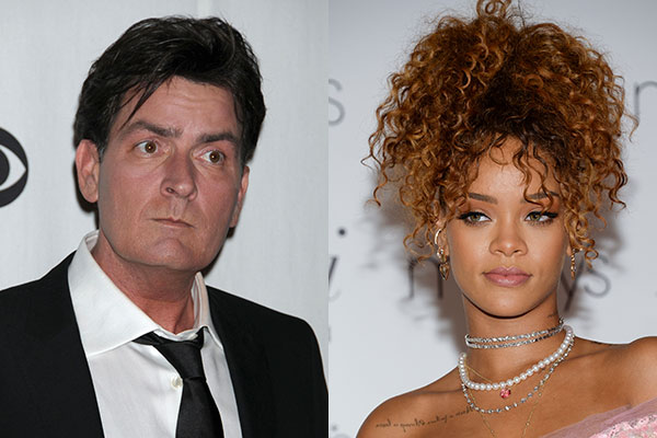 Charlie Sheen vs. Rihanna