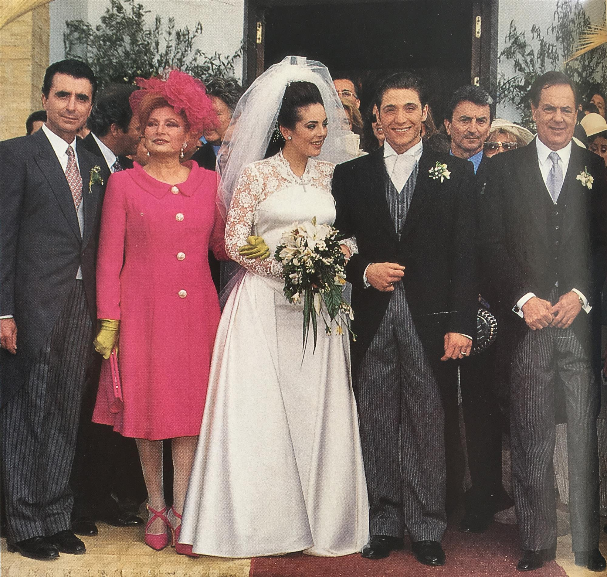 Vestido novia rocio carrasco