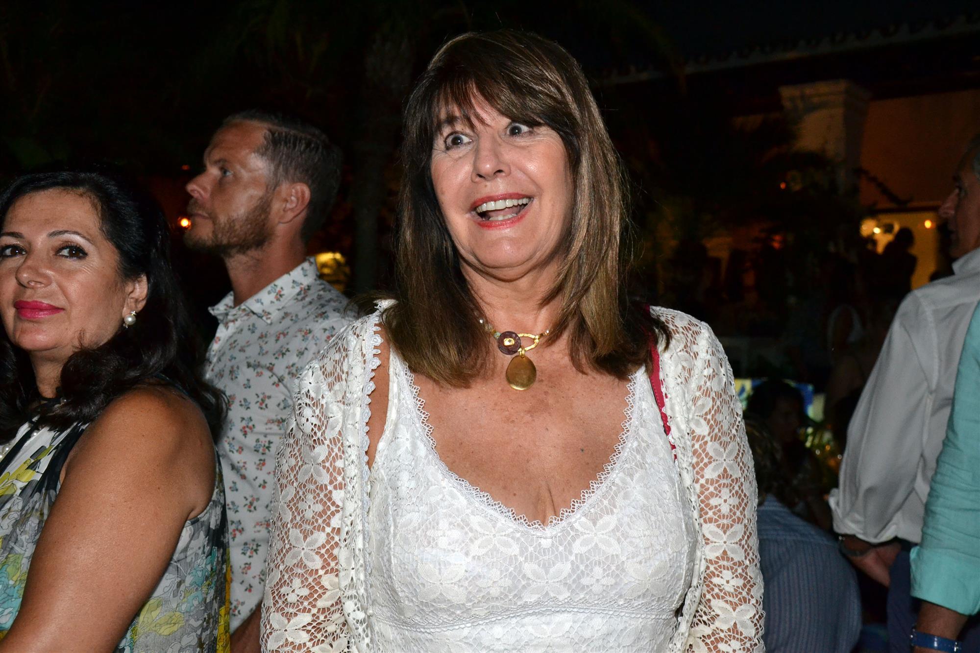 Terelu Campos y otros famosos lo dan todo en Marbella