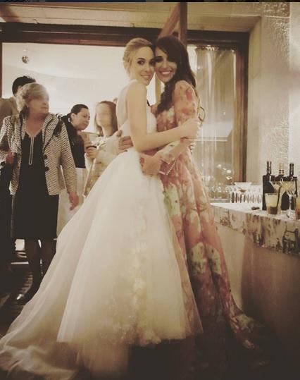 Paula echevarria vestido boda amiga
