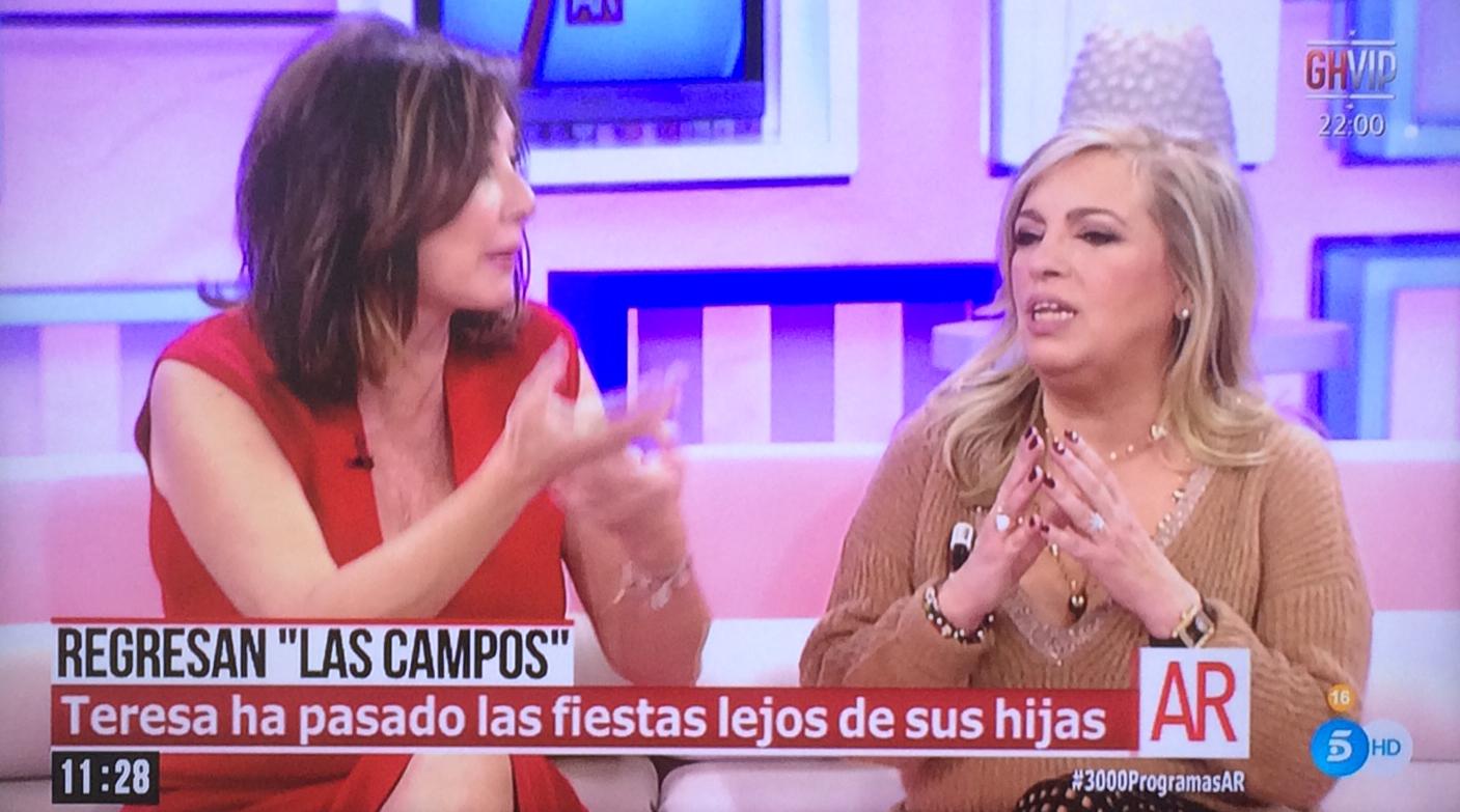 Carmen Borrego No Hemos Hecho Un Espacio Para Sálvame Deluxe