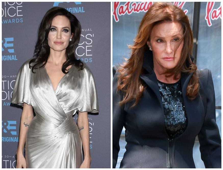 angelina jolie y caitlyn jenner