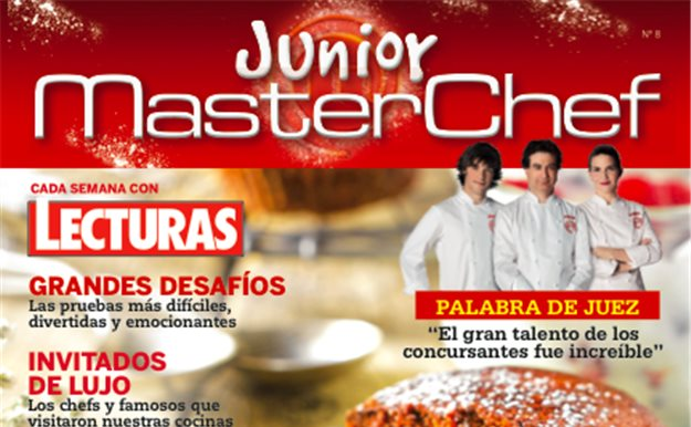 Vuelve la revista oficial de MasterChef Junior