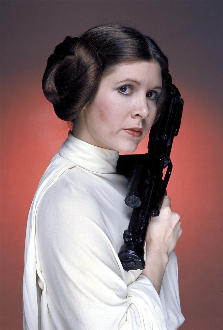 Carrie Fisher, princesa Leia