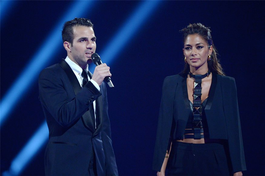 Cesc Fàbregas en los Brit Awards