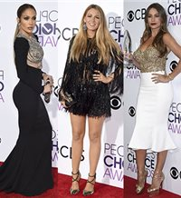 Duelo de estilo en los People's Choice Awards