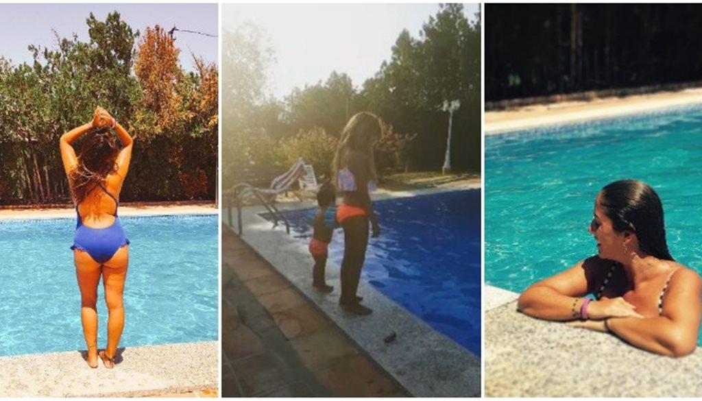 Paella gazpacho sangr a y mucha tensi n en el 60 cumplea os de isab - Cumpleanos en piscina ...