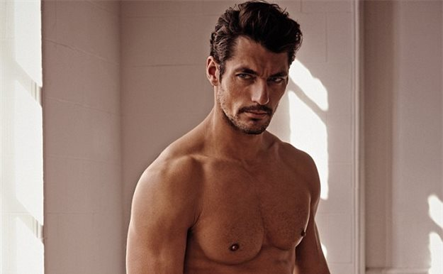 El modelo David Gandy rechazó ser Christian Grey