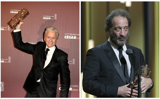 Michael Douglas, César de honor, y Vincent Lindon, mejor actor