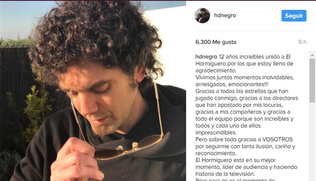 Se Ido Hormiguero' El Ha Por Qué Hombre 'el Negro De rsQdth