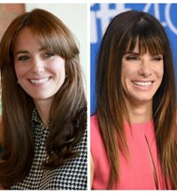 Celebrities que ya lucen un flequillo como el de Kate Middleton