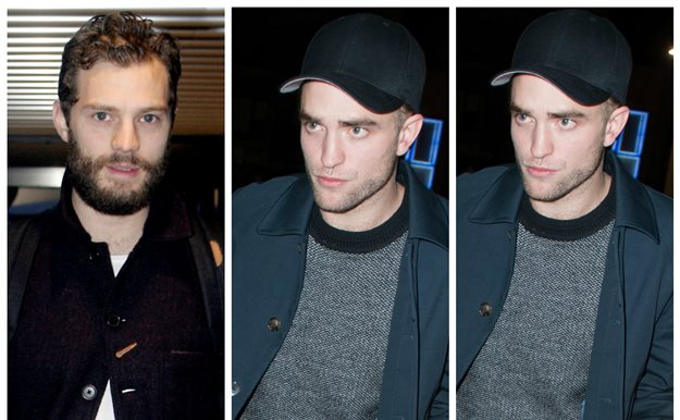 Jamie Dornan y Robert Pattinson, compañeros de borrachera
