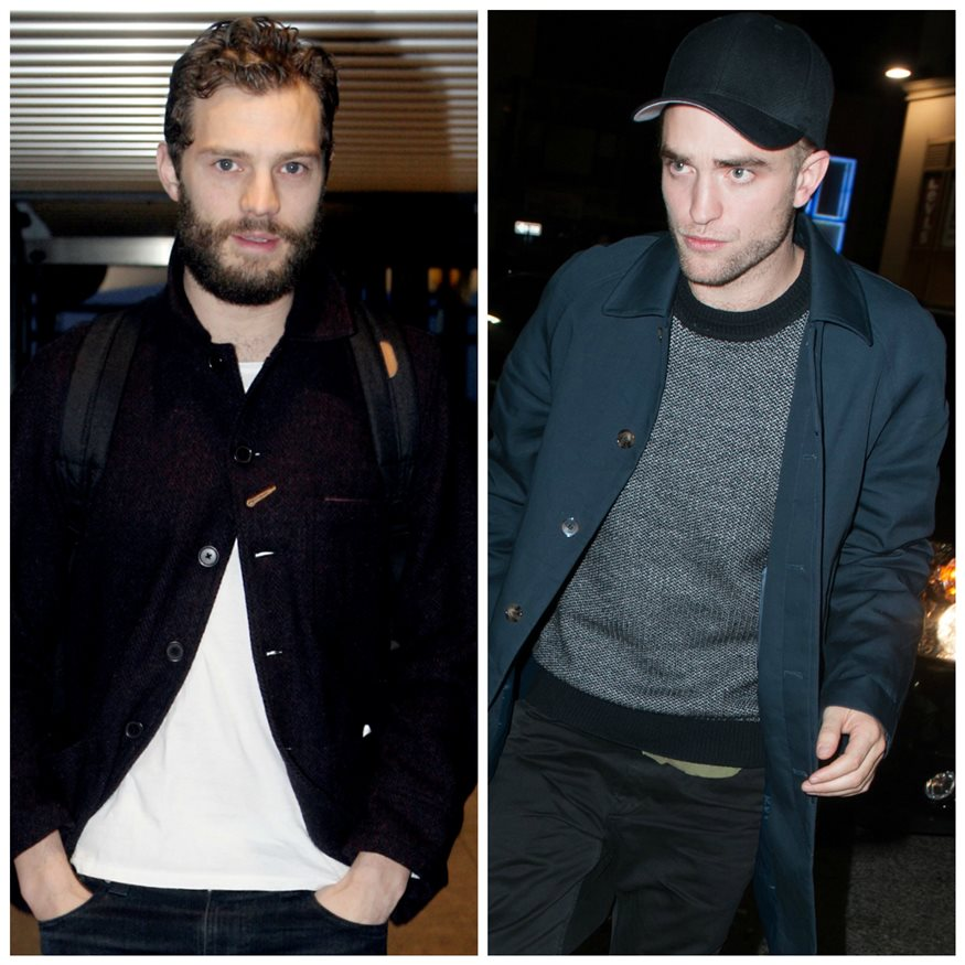 jamie dornan  y robert pattinson