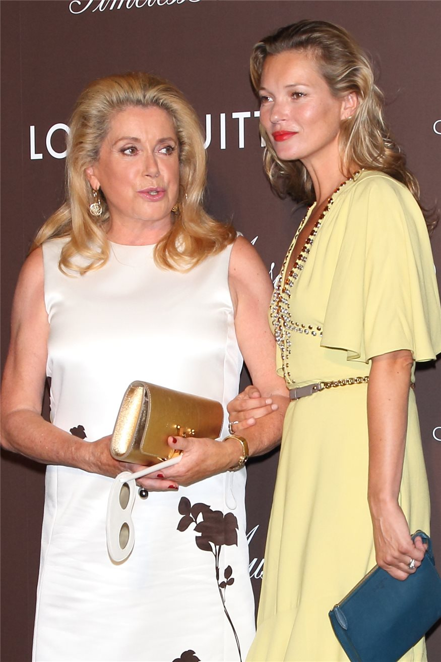 Kate Moss y Catherine Deneuve