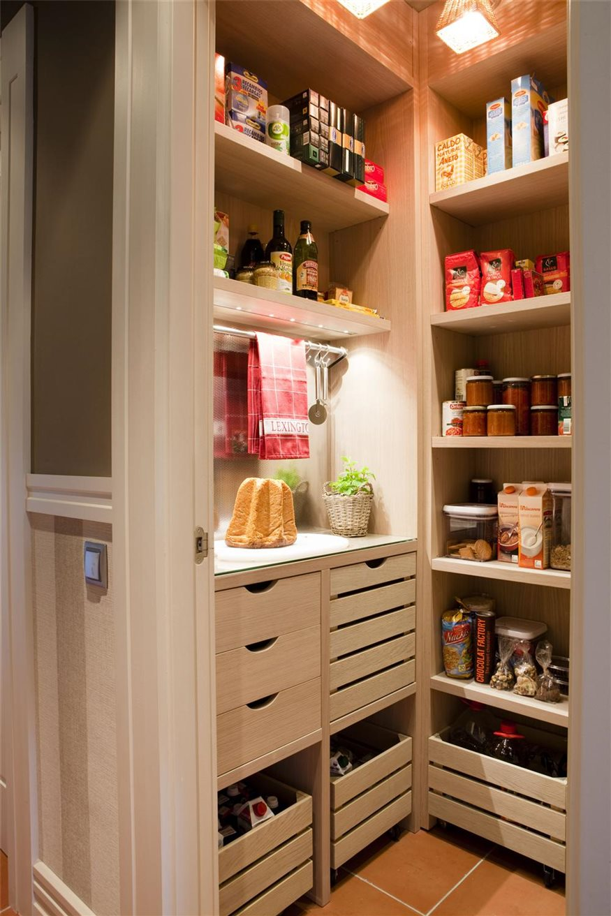 La despensa es la caja fuerte de la cocina Despensa cocina