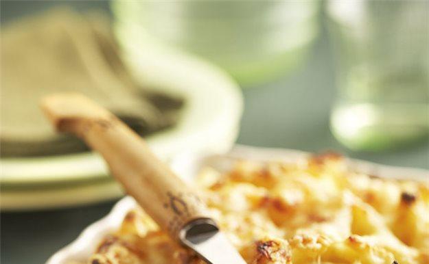Macarrones gratinados con verduras - Macarrones con verduras al horno ...