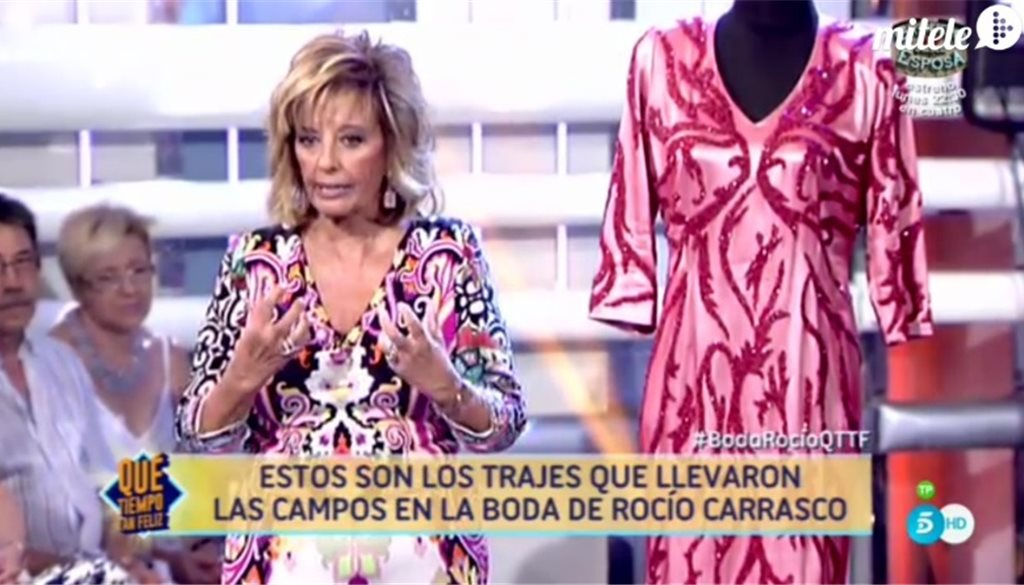 La boda de Rocío y Fidel contada por las Campos