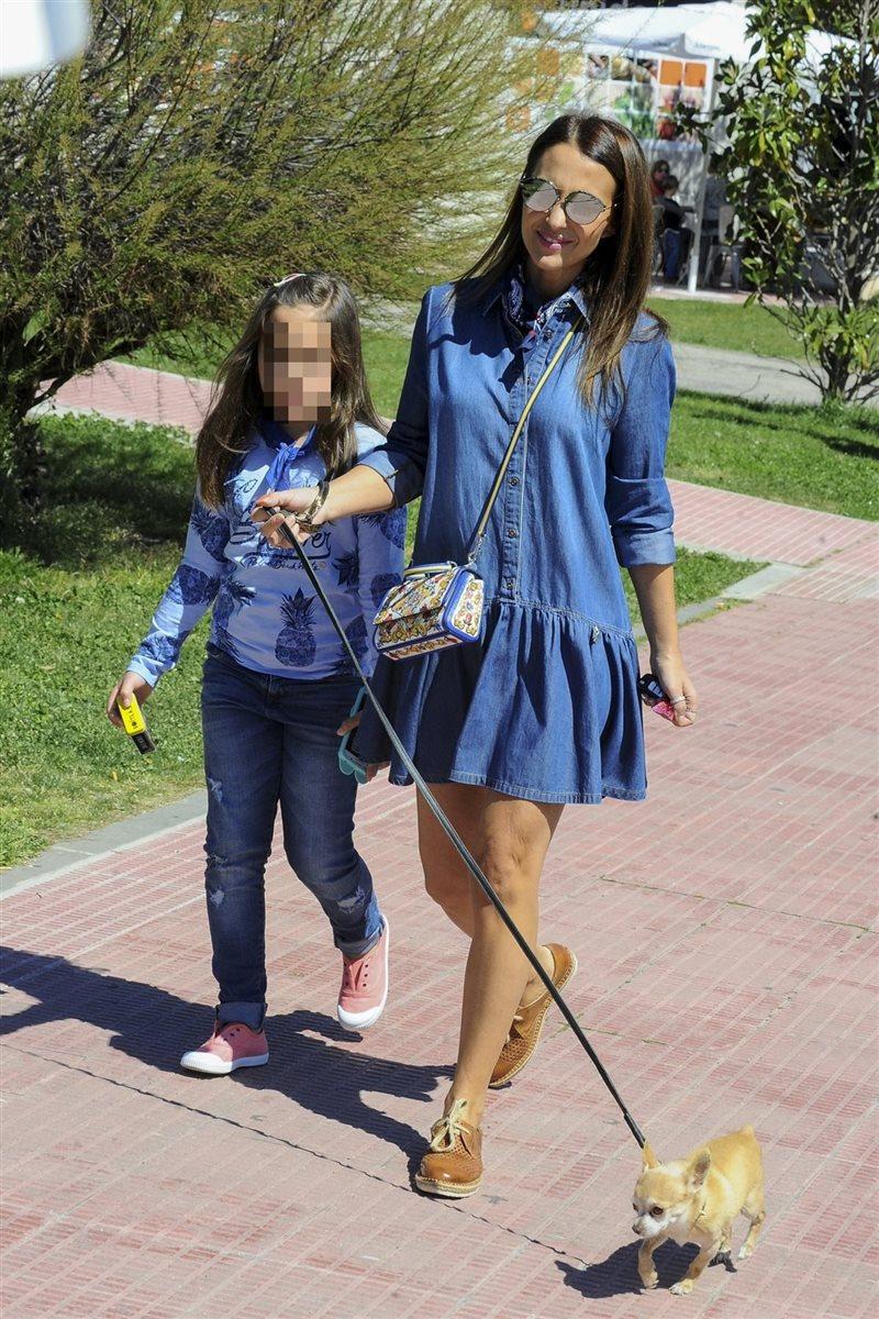 Paula Echevarría se vuelca en su hija Daniella
