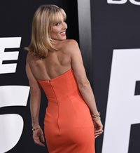 Elsa Pataky, espectacular en la 'première' de 'The Fate of The Furious'