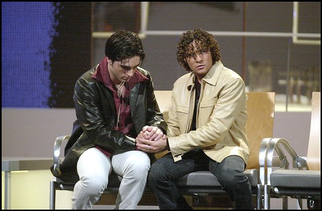 David Bisbal y David Bustamante