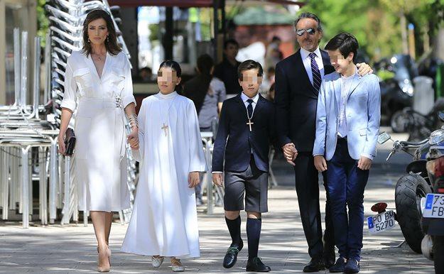 Vestidos comunion famosas