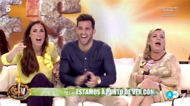 Los tertulianos de 'Supervivientes'