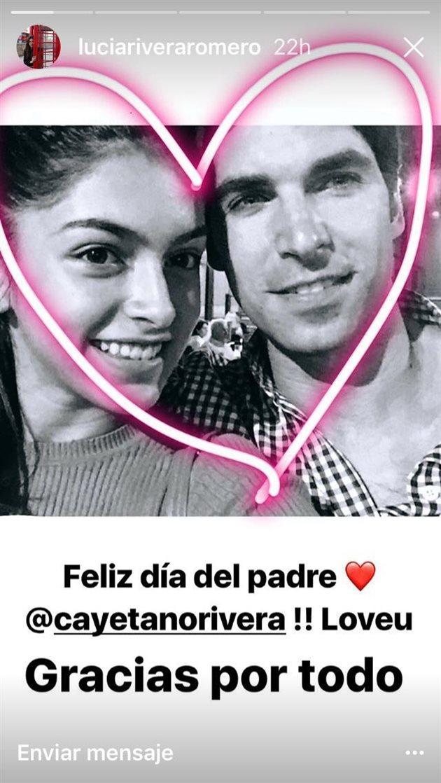 La nueva declaraci n de amor de luc a rivera a cayetano for Blanca romero y cayetano rivera