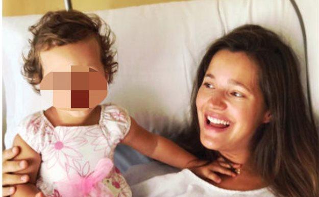 d25697911 Malena Costa da a luz a su segundo hijo