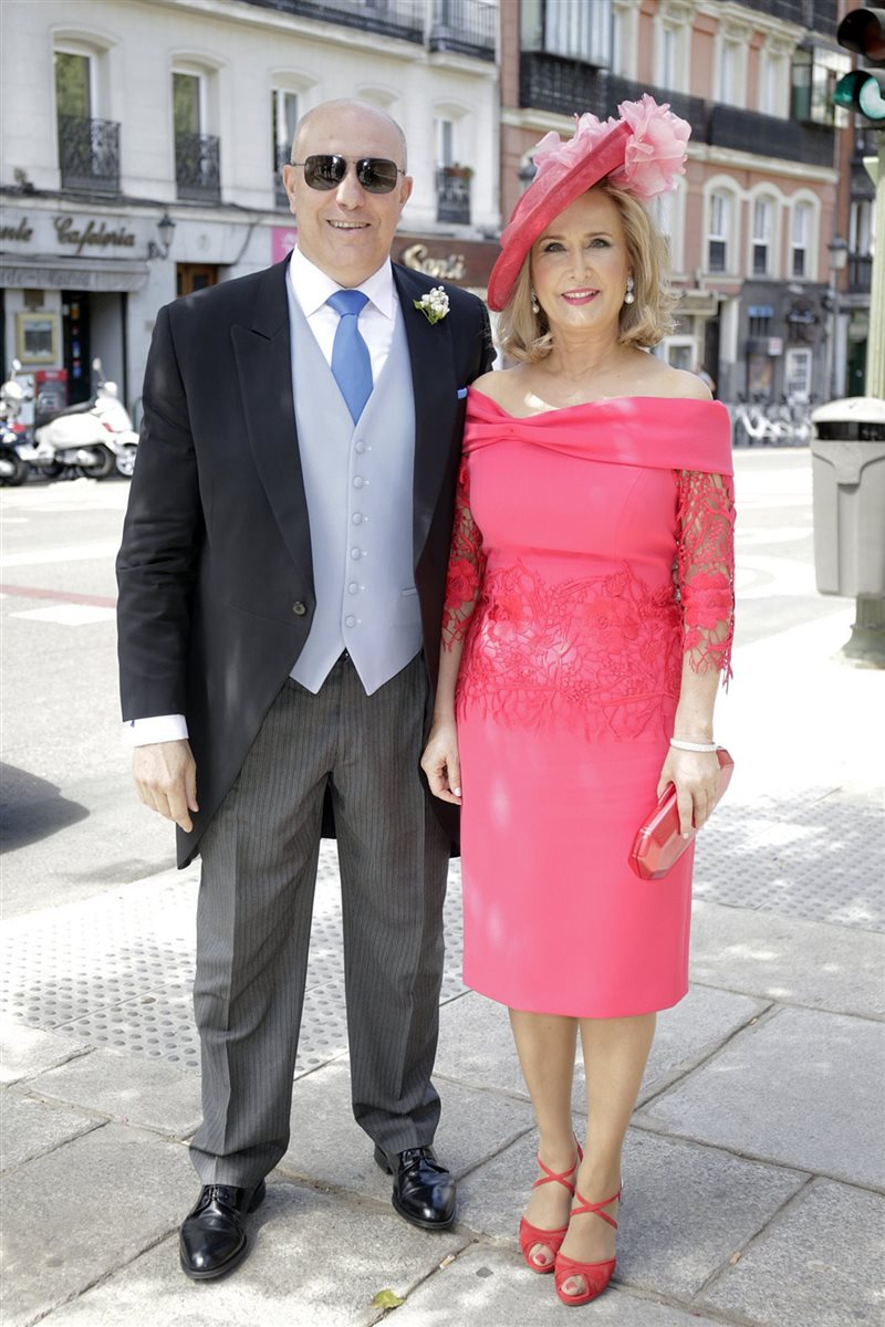 La boda de Blanca Moreno, la hija mayor de Nieves Herrero