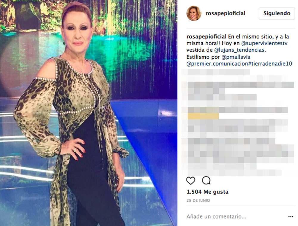 Rosa Benito Vuelve A Presumir De Tipazo En Biquini