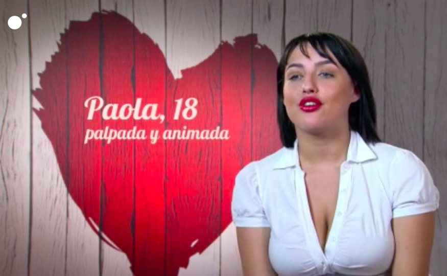 Paola en 'First dates'