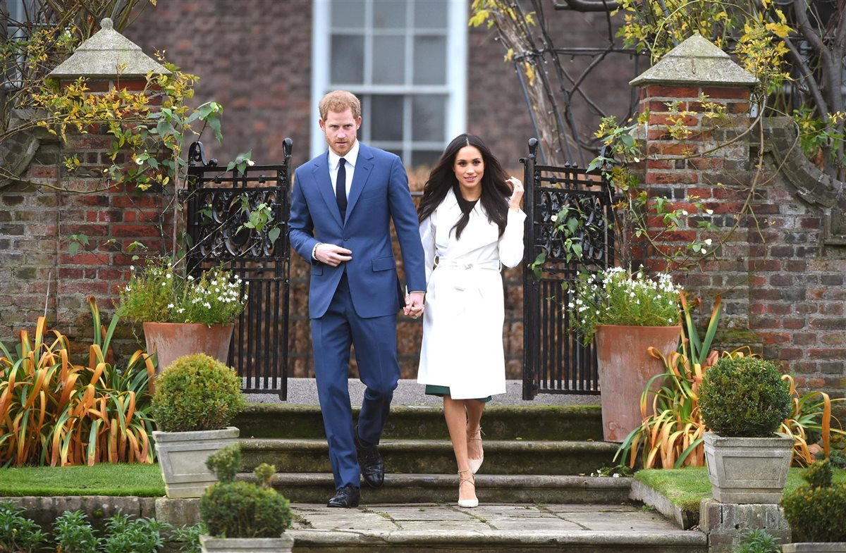 harry meghan. Exclusividad en estado puro