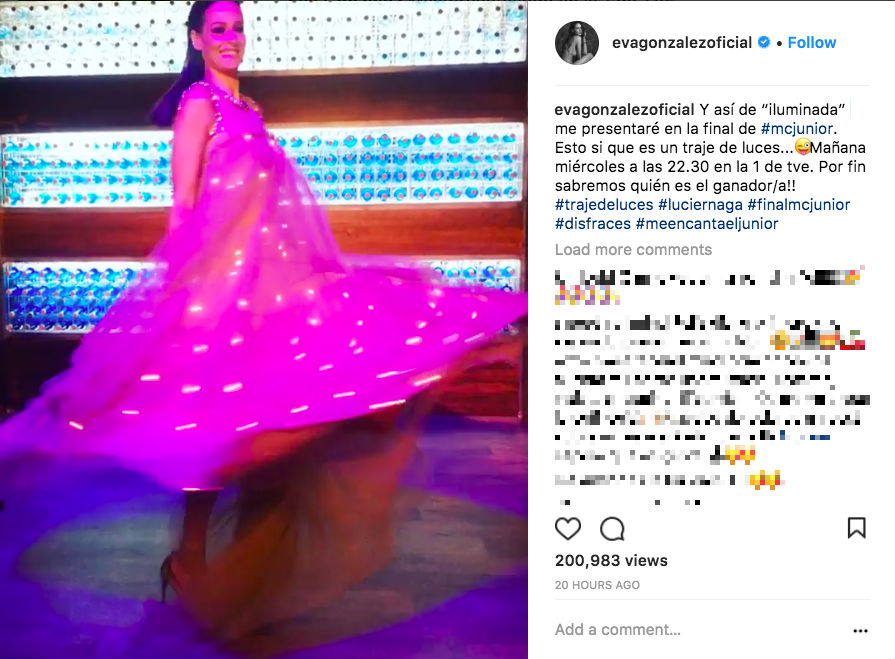 fbf5a16ca MasterChef Junior Final  Eva González presume de  traje de luces