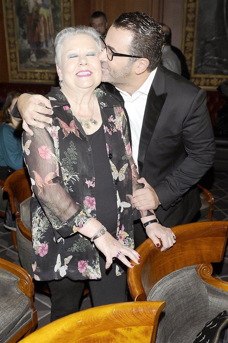 Jorge Javier Vázquez y su madre. La sabiduría de una madre