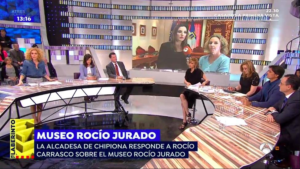 Roc o carrasco enfrentada con chipiona por el museo roc o jurado - Espejo publico hoy ...