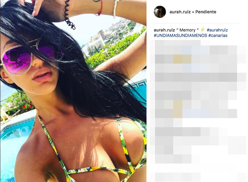 Aurah Ruiz. Recado a Jesé