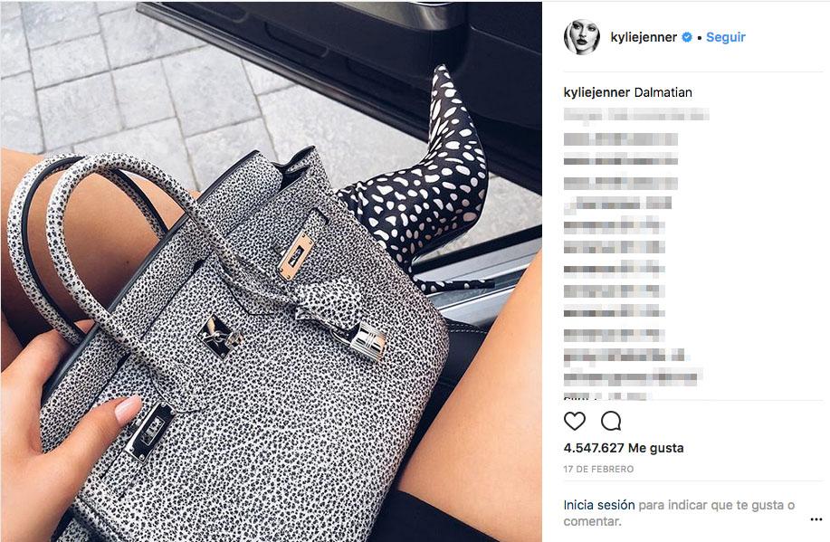 8ff9ffebf Esto es lo que cuesta el lujoso armario de bolsos de Kylie Jenner