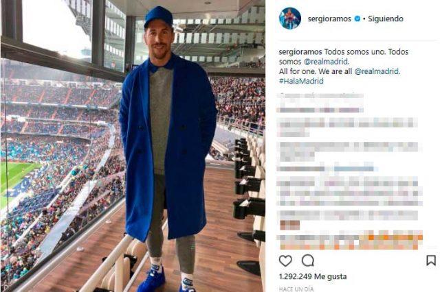 Sergio Ramos se supera a sí mismo y viste otro  look  imposible e139e5b2caa