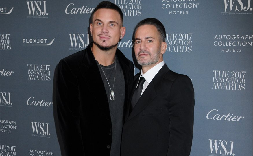 Marc Jacobs y Charly DeFrancesco